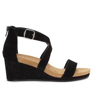 NEW! Lucky Brand Kenadee Wedge Sandals